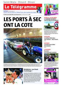 Le Télégramme Saint Malo – 15 juillet 2019