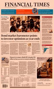 Financial Times Europe  – 31 December 2019