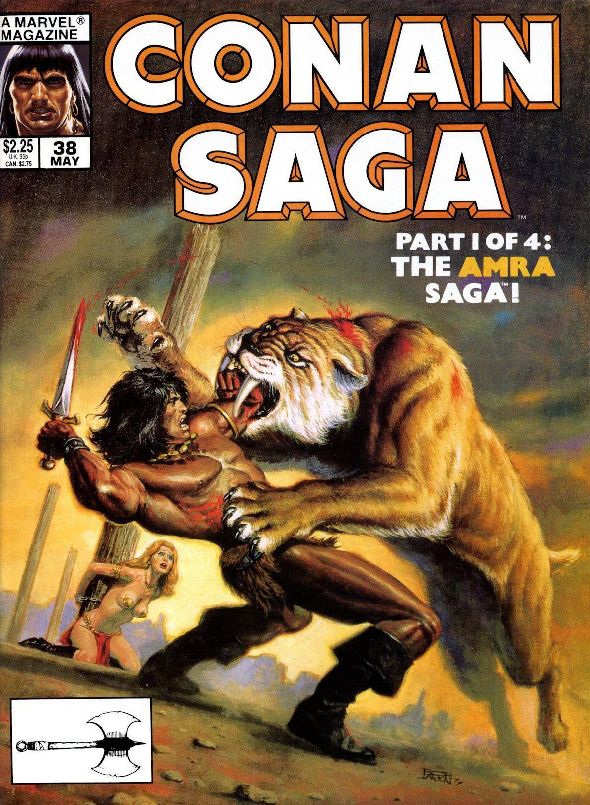 Conan Saga Vol 1 038 1990