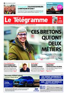 Le Télégramme Guingamp – 20 novembre 2019