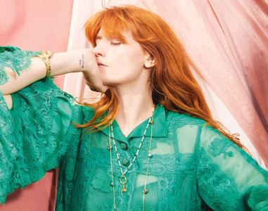 Florence Welch by Quentin Jones for ELLE UK November 2018