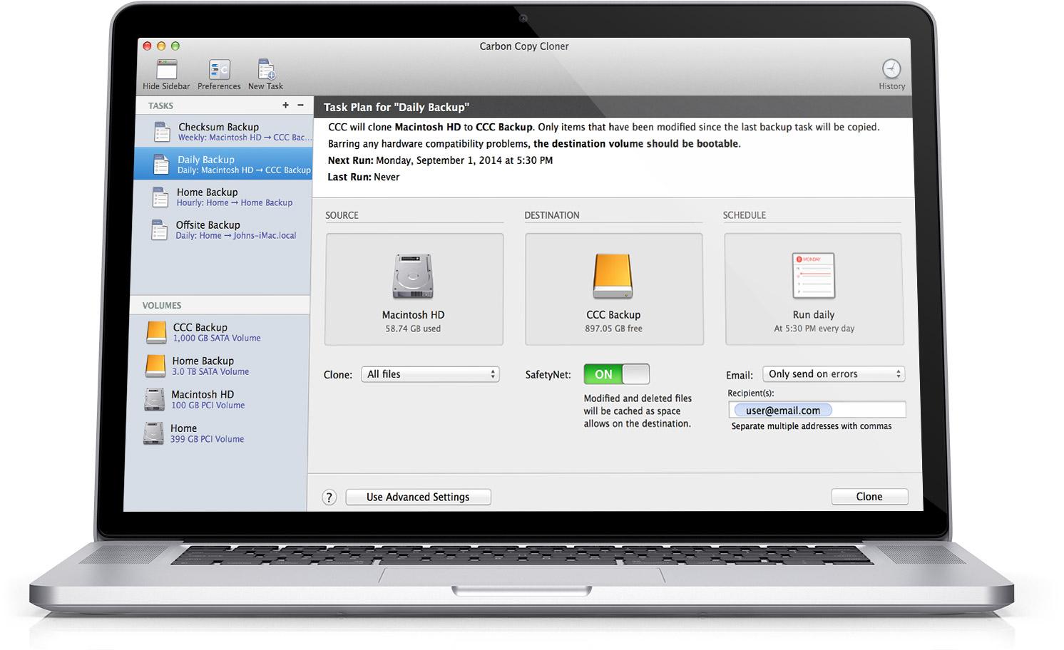 Carbon Copy Cloner v5.1.2 Multilingual macOS