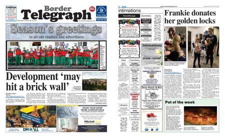 Border Telegraph – December 26, 2018