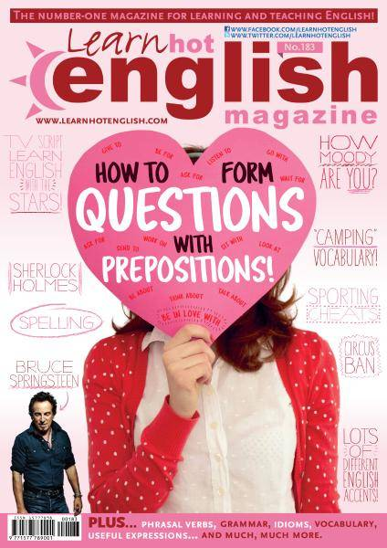 Learn Hot English - Issue 183 - August 2017