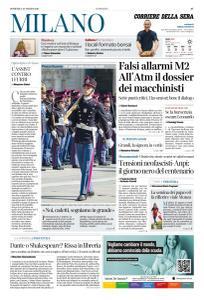 Corriere della Sera Milano - 24 Marzo 2019
