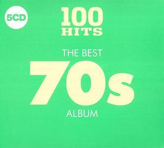 VA - 100 Hits: The Best 70s Album (5CD, 2018)