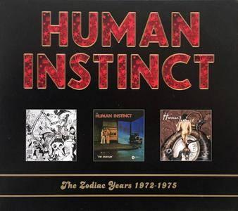 Human Instinct - The Zodiac Years 1972-1975 (2010) {3CD Box Set}