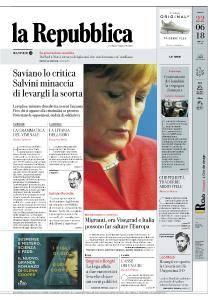 la Repubblica - 22 Giugno 2018