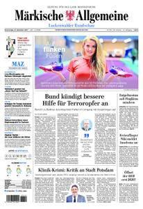 Märkische Allgemeine Luckenwalder Rundschau - 14. Dezember 2017