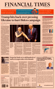 Financial Times USA – 23 September 2019