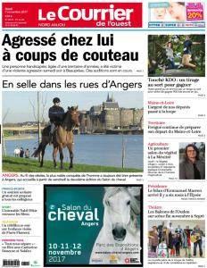 Le Courrier de l'Ouest Nord Anjou - 7 Novembre 2017