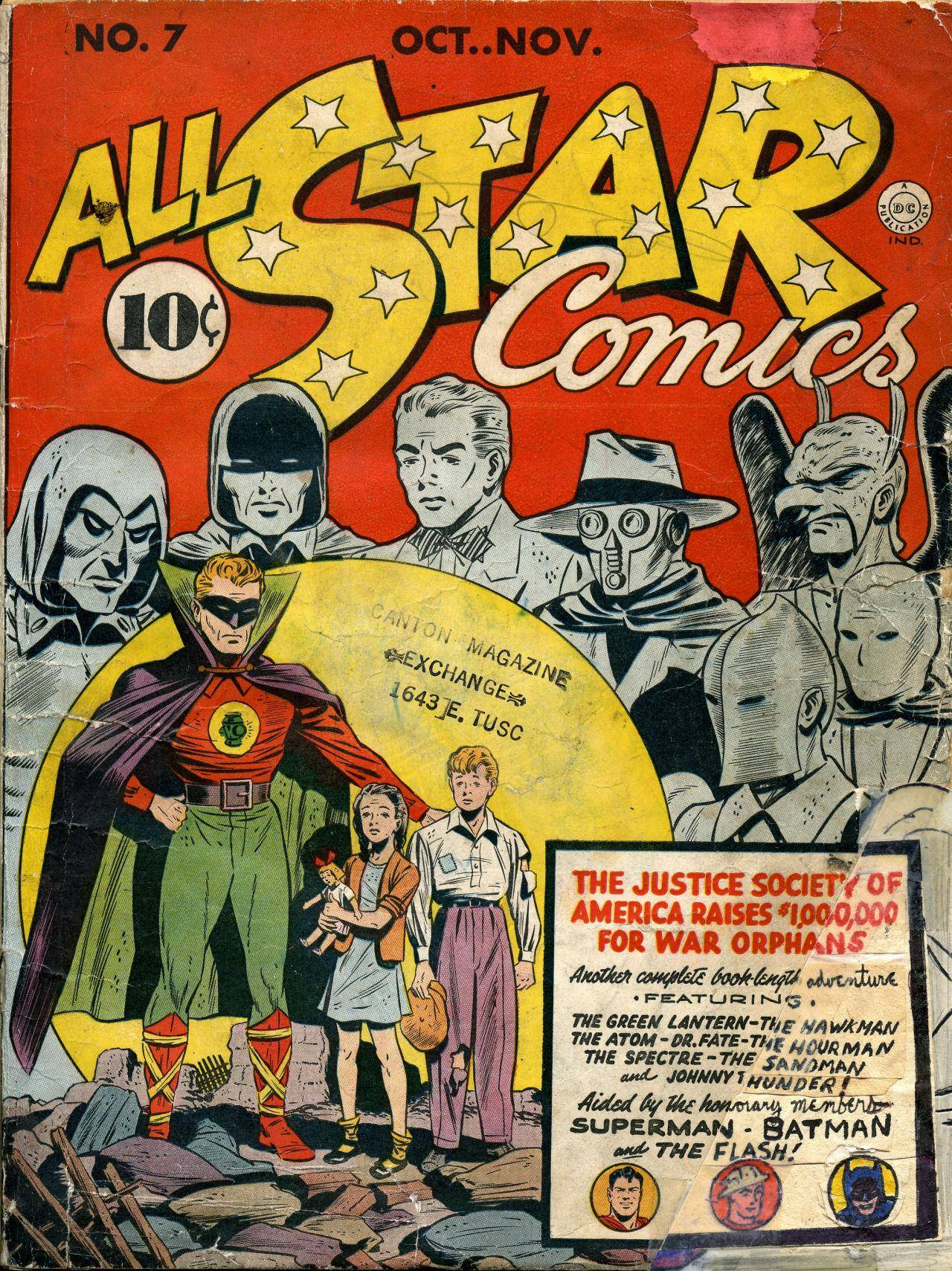 All-Star Comics 007 1941 Rolster-Snard