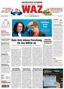 WAZ Westdeutsche Allgemeine Zeitung Oberhausen-Sterkrade - 29. Mai 2019