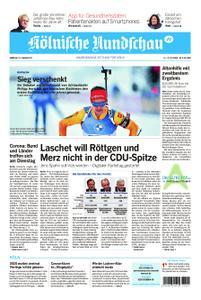 Kölnische Rundschau Köln-West – 16. Januar 2021