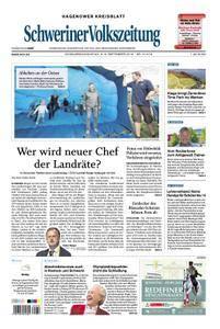 Schweriner Volkszeitung Hagenower Kreisblatt - 08. September 2018