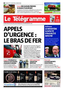Le Télégramme Brest Abers Iroise – 19 octobre 2021