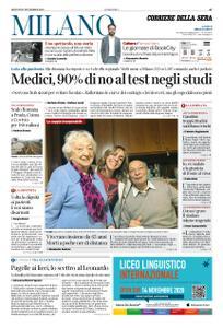 Corriere della Sera Milano – 12 novembre 2020