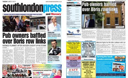 South London Press – June 25, 2019