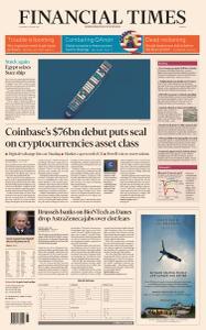 Financial Times Europe - April 15, 2021