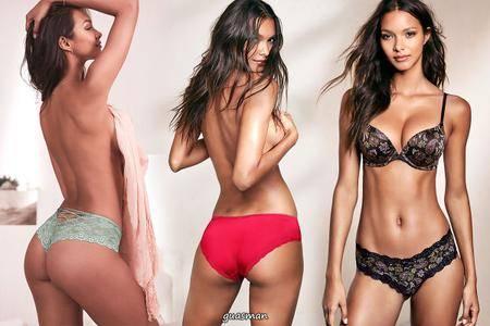 Lais Ribeiro - Victoria's Secret Photoshoot 2017