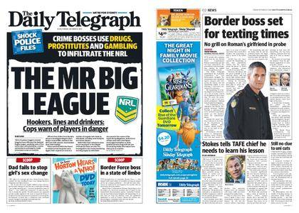 The Daily Telegraph (Sydney) – October 27, 2017