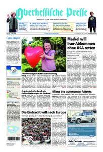 Oberhessische Presse Marburg/Ostkreis - 12. Mai 2018