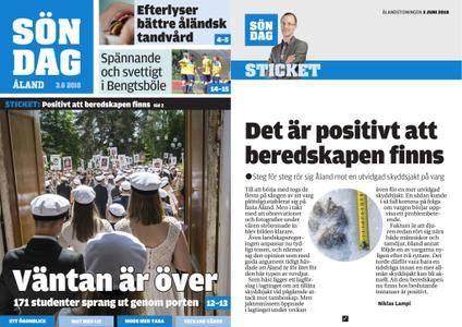 Ålandstidningen – 03 juni 2018