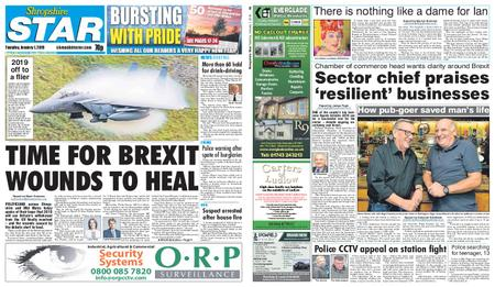 Shropshire Star Shrewsbury Edition – January 01, 2019