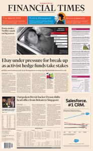 Financial Times Europe – 23 January 2019