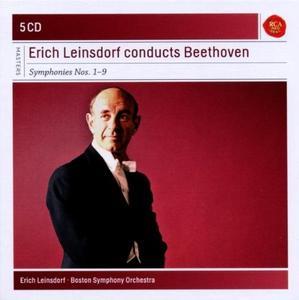 Erich Leinsdorf conducts Beethoven: Symphonies Nos. 1-9 (2012) (5 CDs Box Set)