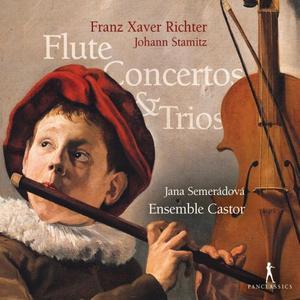 Jana Semerádová and Ensemble Castor - Richter & Stamitz: Flute Concertos & Trios (2019)