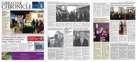 Gibraltar Chronicle – 20 February 2020