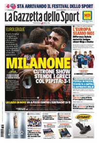 La Gazzetta dello Sport – 05 ottobre 2018