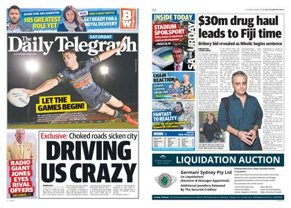 The Daily Telegraph (Sydney) – March 09, 2019