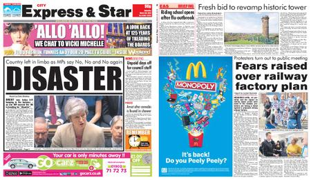 Express and Star City Edition – March 30, 2019
