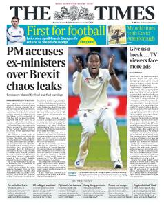 The Times - 19 August 2019