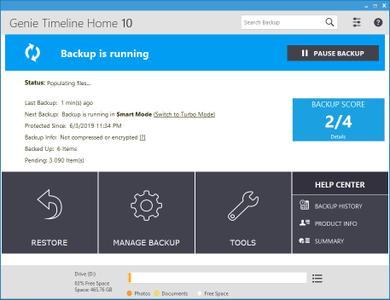 Genie Timeline Server / Home 10.0.3.300 Multilingual