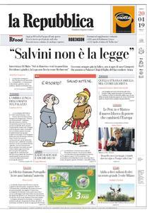 la Repubblica – 20 aprile 2019