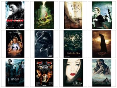 12 HQ Movie Posters IV