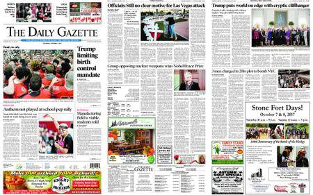 The Daily Gazette – October 07, 2017