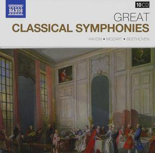 VA - Naxos 25th Anniversary: Great Classical Symphonies (2012) (10 CD Box Set)