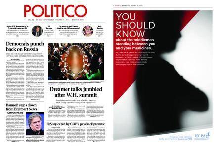 Politico – January 10, 2018