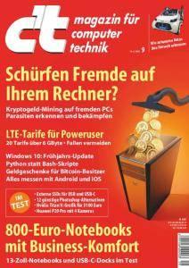c't Magazin Nr.9 - 14 April 2018