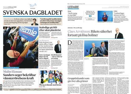 Svenska Dagbladet – 24 februari 2020