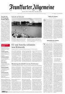 Frankfurter Allgemeine Zeitung - 22 April 2021