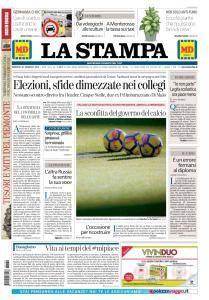 La Stampa Torino Provincia e Canavese - 30 Gennaio 2018