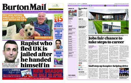Burton Mail – April 25, 2018