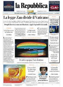 la Repubblica - 23 Giugno 2021