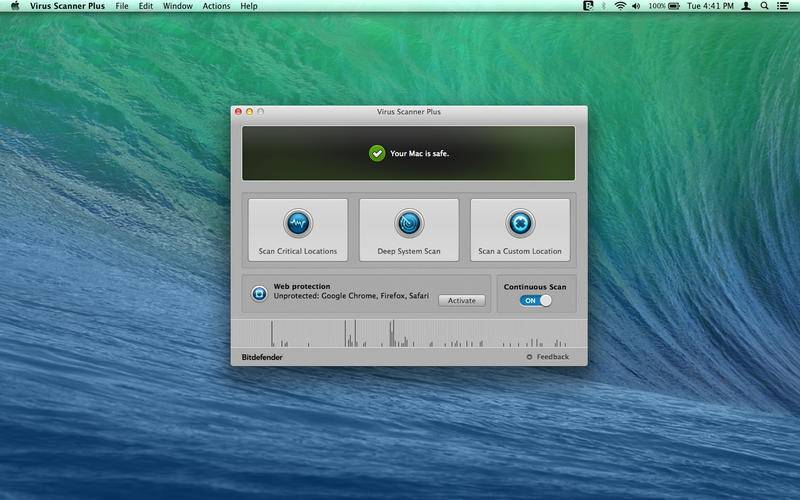 Bitdefender Virus Scanner Plus 3.9