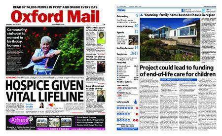 Oxford Mail – June 09, 2018